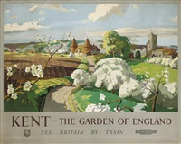 kent - the garden of england by frank sherwin