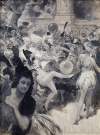 le bal masqué by rené lelong