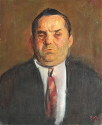 the portrait of constantin doncea by corneliu baba