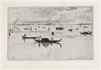 laguna veneta by otto henry bacher