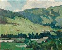 paysage à la vallée by bessie ellen davidson