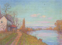 la seine à médan by louis le bail
