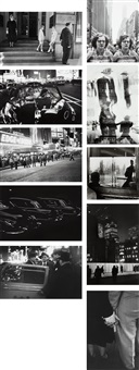 the light suite, philadelphia and new york, (40 works) by louis faurer