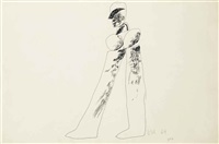 man by david hockney
