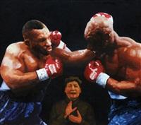 mao zedong - ex boxers by liu guoqiang
