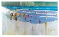 beach scene by hurvin anderson