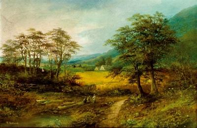 paisaje by w. richards