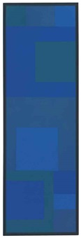 abstract painting by ad reinhardt