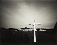 cemetery on the bayou, dulac, louisiana, 9 october 1988 by laurence aberhart