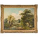 english landscape by george elgar hicks
