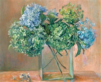 hydrangeas by margaret hannah olley