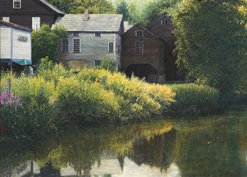sacketts brook putney vt by wally ames