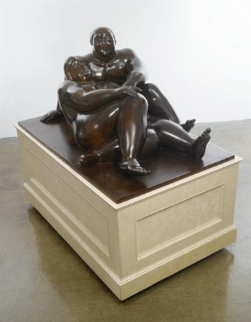 lovers by fernando botero