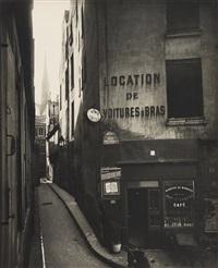 rue des ursins, paris. oversized by eugène atget