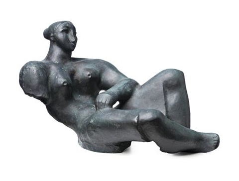 reclining lady by lyndon raymond dadswell