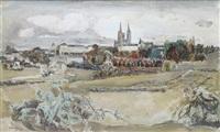 la cathédrale de chartres by edouard-georges mac-avoy