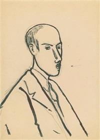 autoportrait by henri heraut