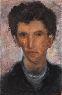 self-portrait by joseph kossonogi