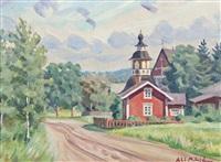 church road by alarik (ali) munsterhjelm