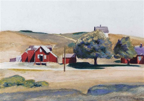 south truro post office i by edward hopper