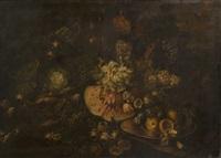 nature morte aux fruits by giuseppe vicenzino