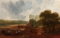 a creek on the severn by john wright oakes