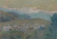 valley village (+ recital; 2 works) by bernard gussow