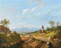 promenade au pied des montagnes (autriche) by matthias rudolf toma
