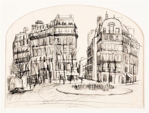 place de victor hugo by brett whiteley