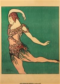 theatre de monte carlo, ballet russe; nijinsky by jean cocteau