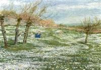 spring meadows, north france by minnie smythe