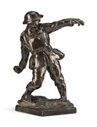 soldier, arras by sir william reid dick