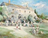 la fête au jardin by michael d' aguilar