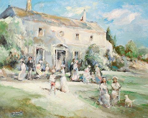 la fête au jardin by michael d aguilar