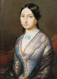 portrait d'emma by franz napoleon heigel