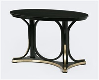 oval table, mod. 8051 c by otto wagner
