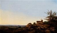 paysage de la vallée du rhône by adolphe appian