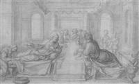 le christ chez simon le pharisien by fabrizio boschi