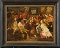 la montée au calvaire by frans francken the younger