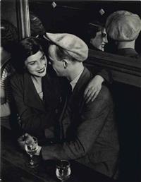 couple au bal musette des quatre-saisons, rue de lappe, c. 1932 by brassaï