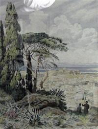 vue d'athènes by bernhard koehler