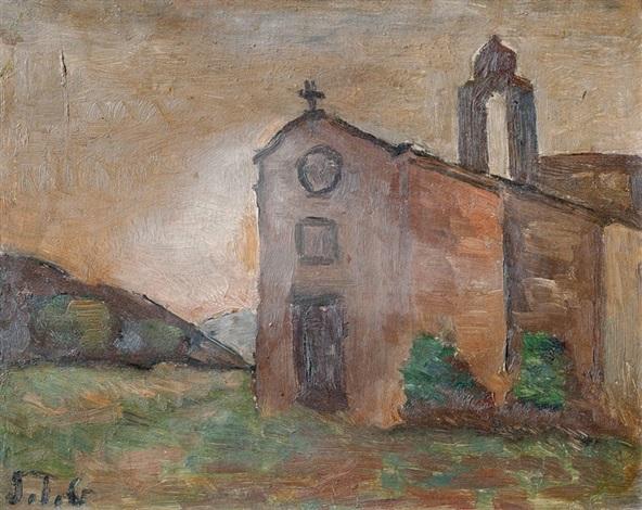 monasterio de poblet by joaquín torres garcía
