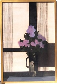 fleurs mauve by andré minaux