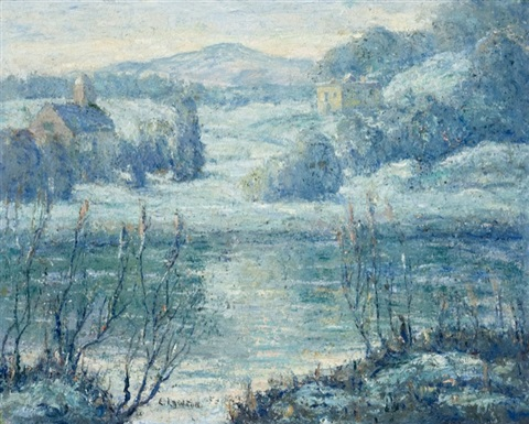 early spring connecticut by ernest lawson