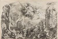 allegorie des feuers by johann wolfgang baumgartner
