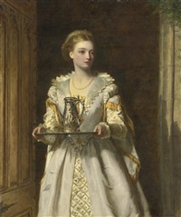 gabrielle d'estrées by william powell frith