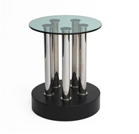 tavolino circolare by ettore sottsass