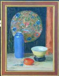 oriental still life by may bradford shockley