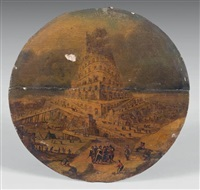 la tour de babel by marten van valkenborch the elder