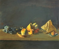 fruit still-life by tibor csernus